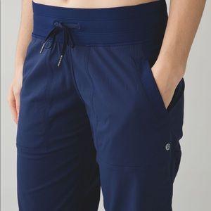 Lululemon Dance Studio Pant *Lined 6 Hero Blue